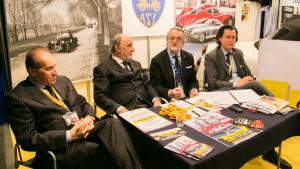 Da sx Fabio Lamborghini, Roberto Loi, Riccardo Zavatti e Gabriele Manservisi