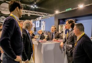 Da sx Massimiliano Bristot, Riccardo Zavatti, il direttore dell'Asi, Gabriele Manservisi e Michele Bertoncello