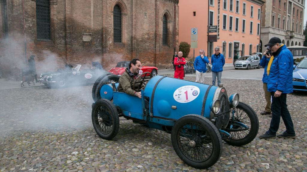Franco Majno presidente del Bugatti Club Italia