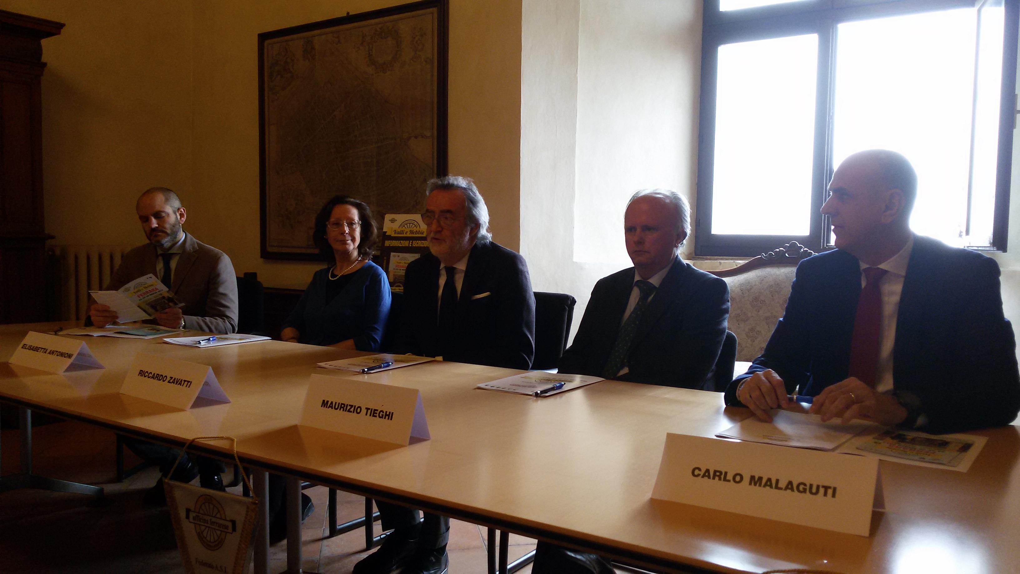 da sx Roberto Serra, Elisabetta Antonioni, Riccardo Zavatti, Maurizio Tieghi, Carlo Malaguti